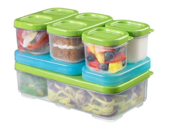 Rubbermaid Lunch Blox For Lunch Box New Food Storage