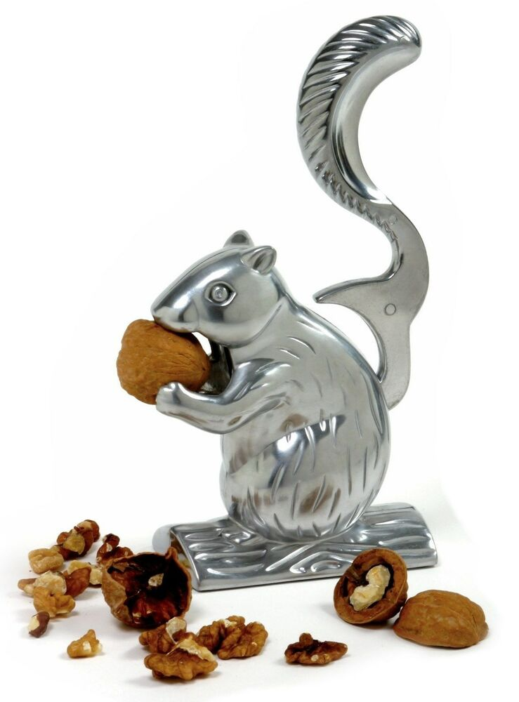 Norpro 6529 davy crackit squirrel nutcracker crack almonds pecans walnuts ebay - Nutcracker squirrel ...