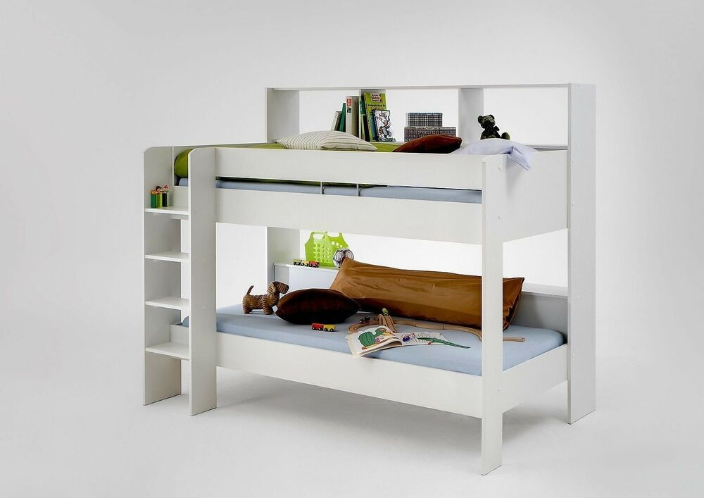 Childrens Kids Bunk Beds Twin Or Single With Desk
