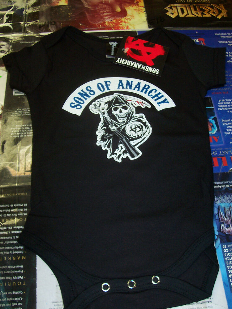 Sons Anarchy Reaper Baby Snap New