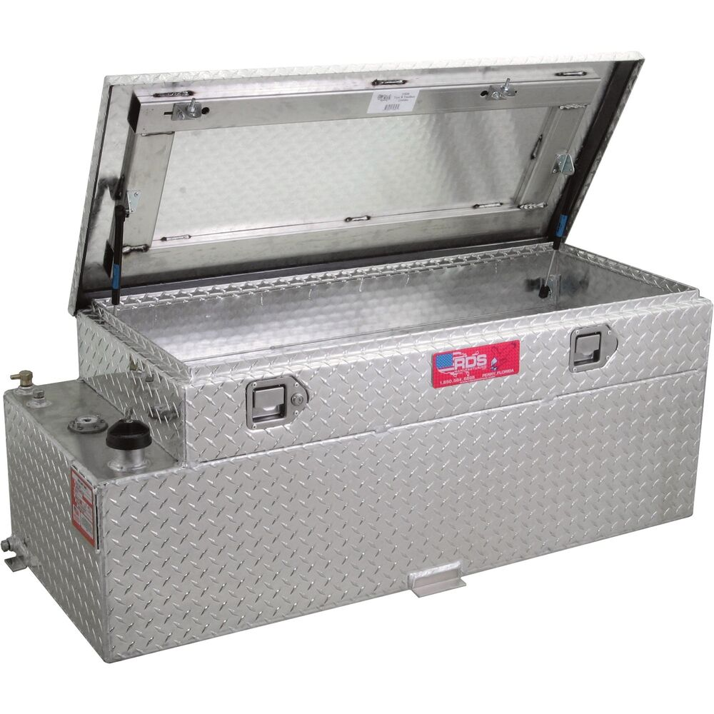 Rds Auxiliary Fuel Tank Toolbox Combo 60 Gal 72644 Ebay