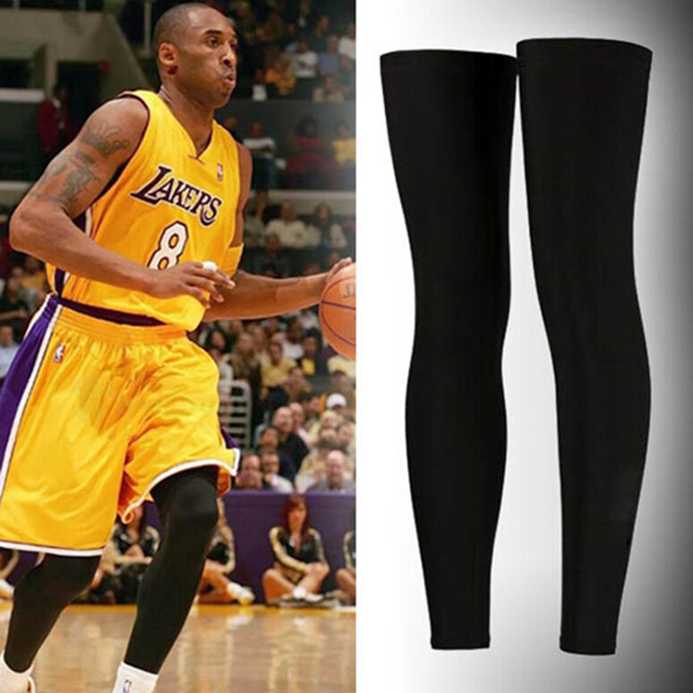 New 1pc Sleeve Sport Compression Basketball Protect Leg Calf Stretch