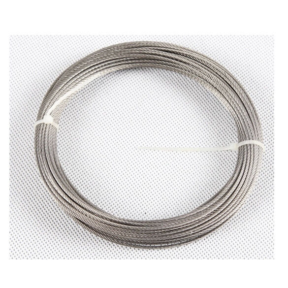 Stainless steel cable wire rope mm to ebay