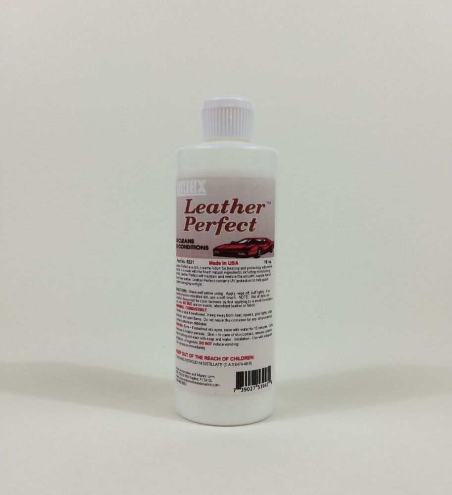 car leather cleaner conditioner ardex leather perfect 16 oz diy like a pro ebay. Black Bedroom Furniture Sets. Home Design Ideas