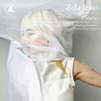 Zola Jesus Conatus !CLEAR VINYL! LP Record, MP3 of cd & Poster! indie goth! NEW!