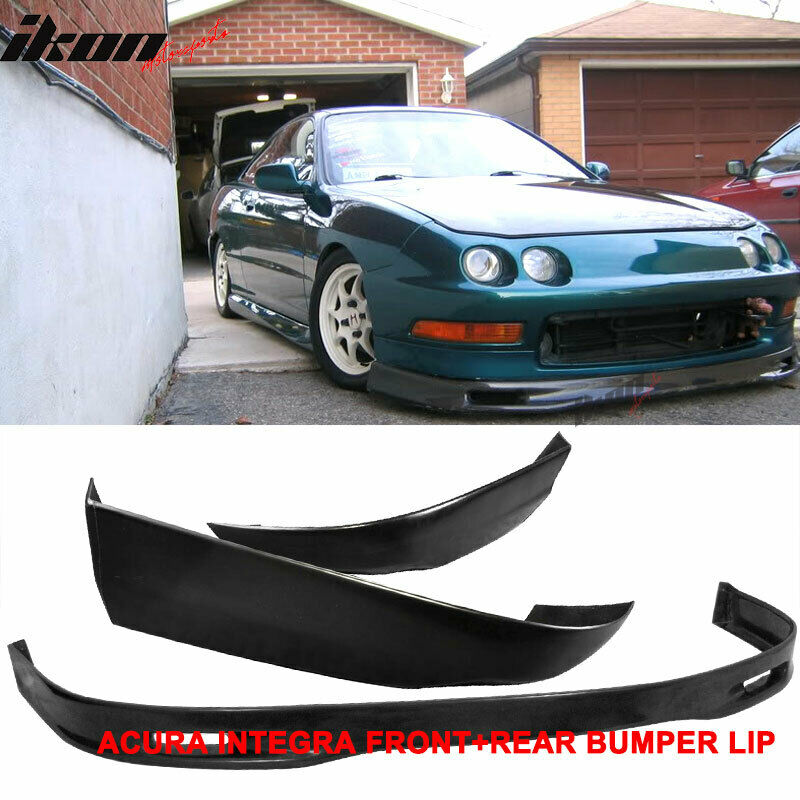 Fits 94-97 Acura Integra Coupe Spoon PU Front Bumper Lip