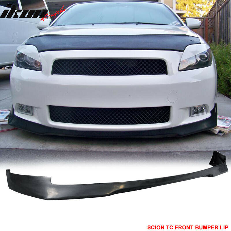 05 10 scion tc evo poly urethane front bumper lip spoiler. Black Bedroom Furniture Sets. Home Design Ideas