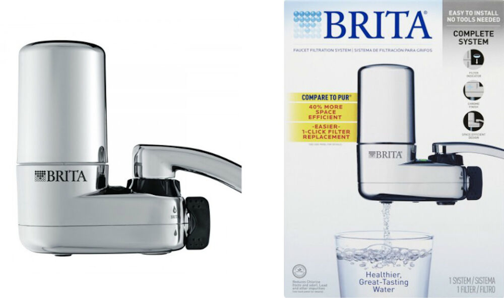 Brita Complete On Tap Faucet Water Filtration System