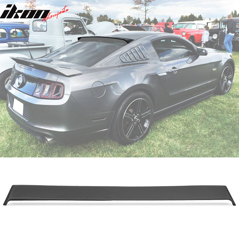 For 05 14 ford mustang rear roof window visor spoiler for 05 acura tl rear window visor