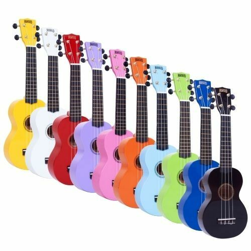 mahalo soprano ukulele uke mr1 2511 fitted with aquila strings bag rrp ebay. Black Bedroom Furniture Sets. Home Design Ideas