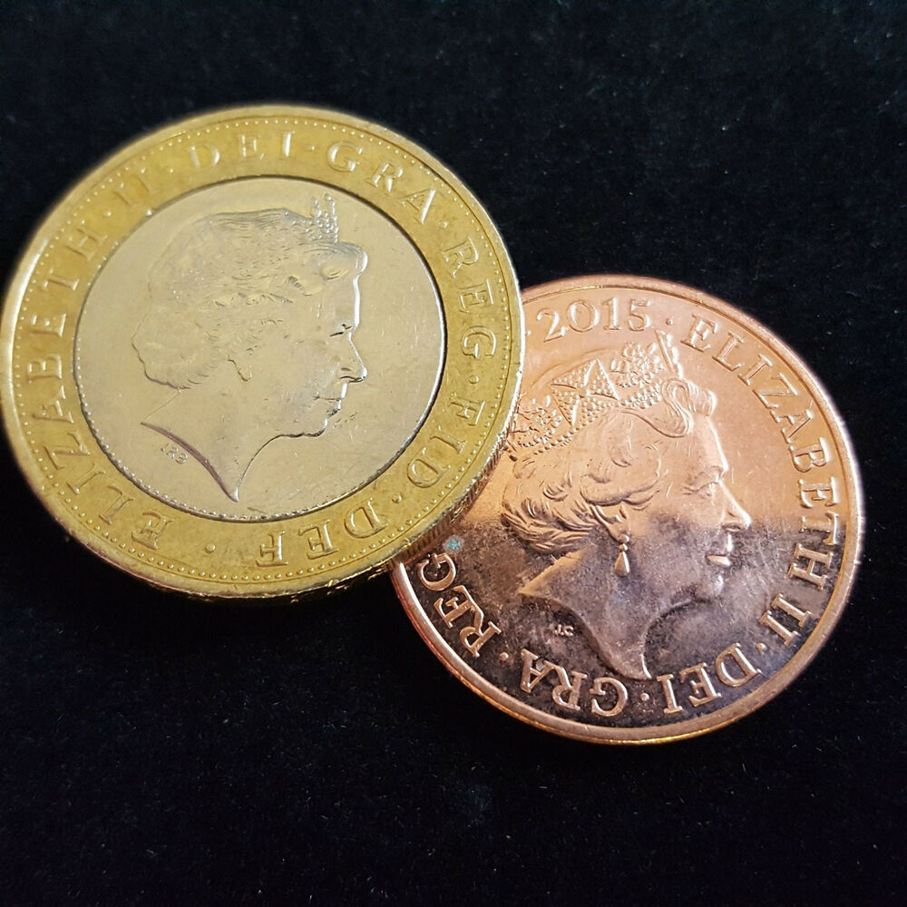 Magic trick coin unique 2 2p the amazing vanishing 2p ebay - Incredible uses for copper pennies ...