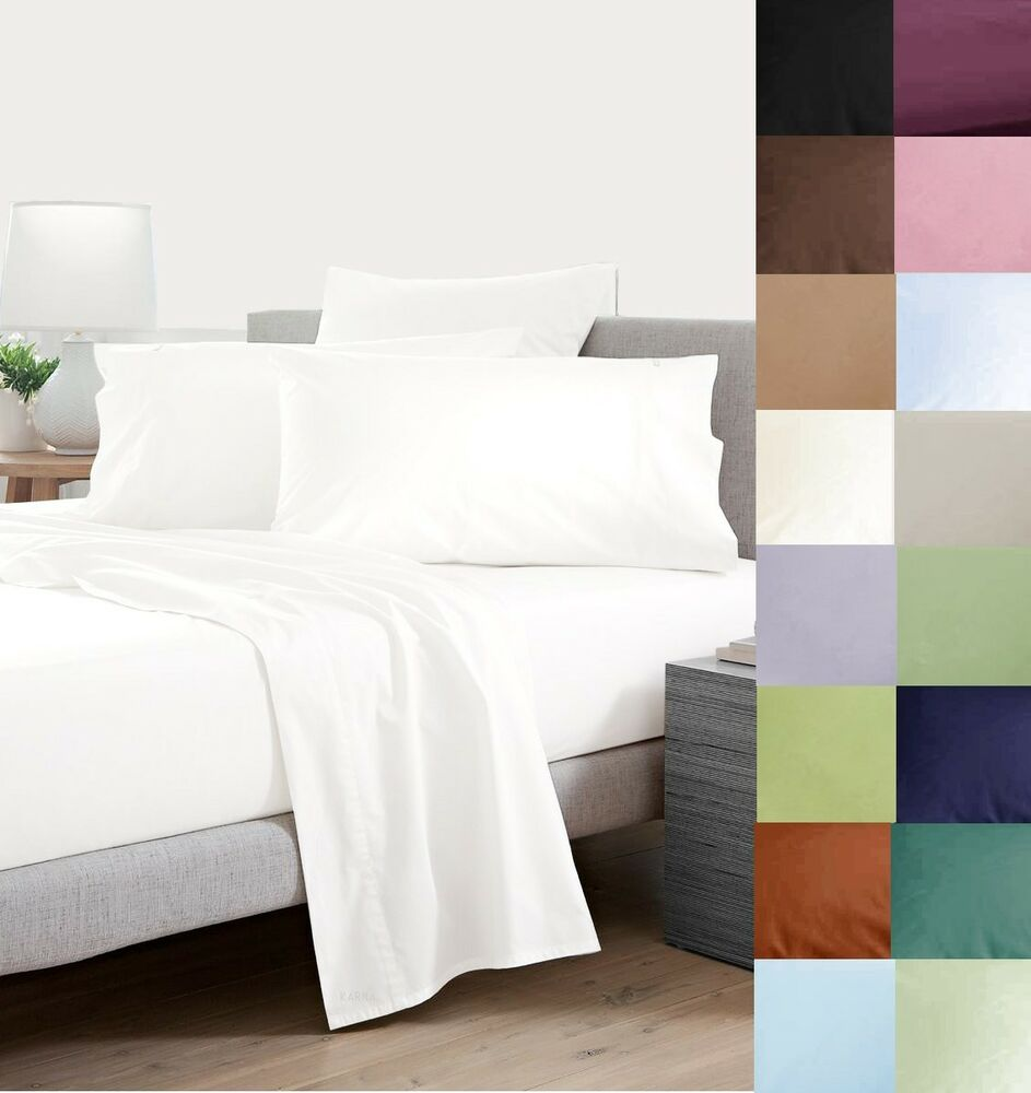 350 400 500 650 800 Thread Count 100 Egyptian Cotton