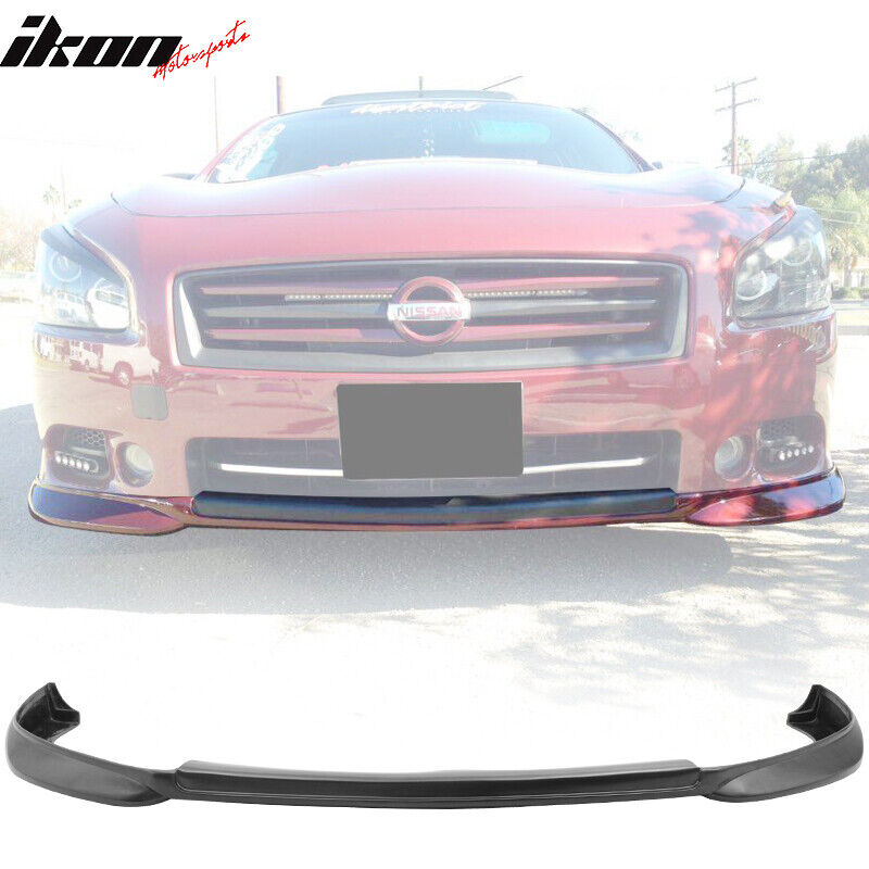 2009 Nissan Maxima Exterior: Fit For 09-14 Nissan Maxima ST Style Front Bumper Lip