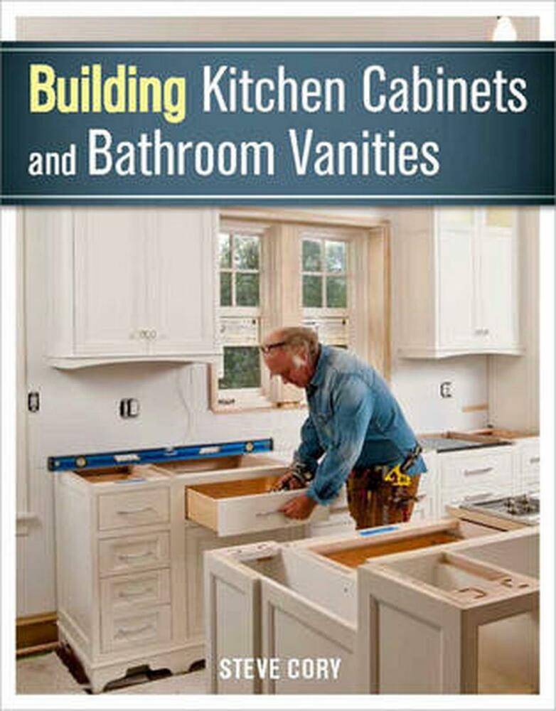 building kitchen cabinets and bathroom vanities by steve