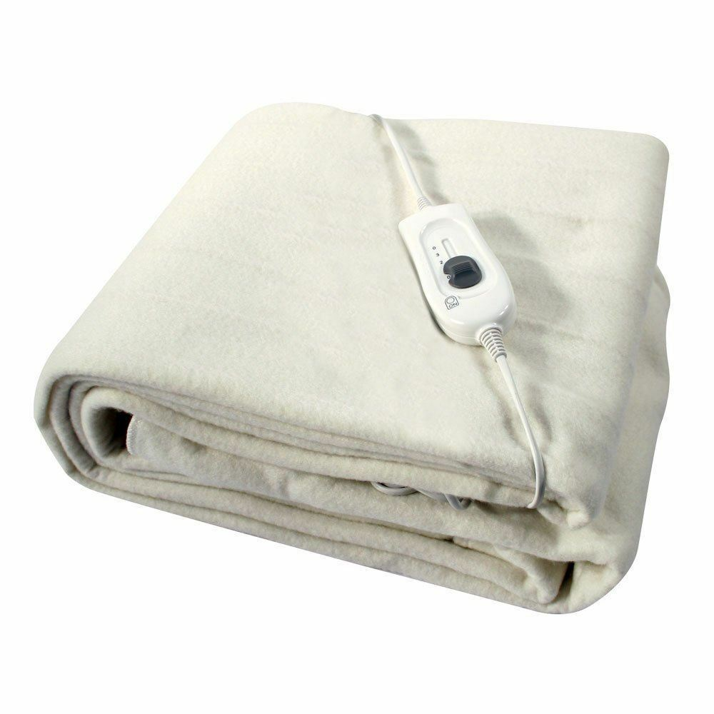 Single Washable Electric Heated Under Blanket 60x120 Cm Ebay