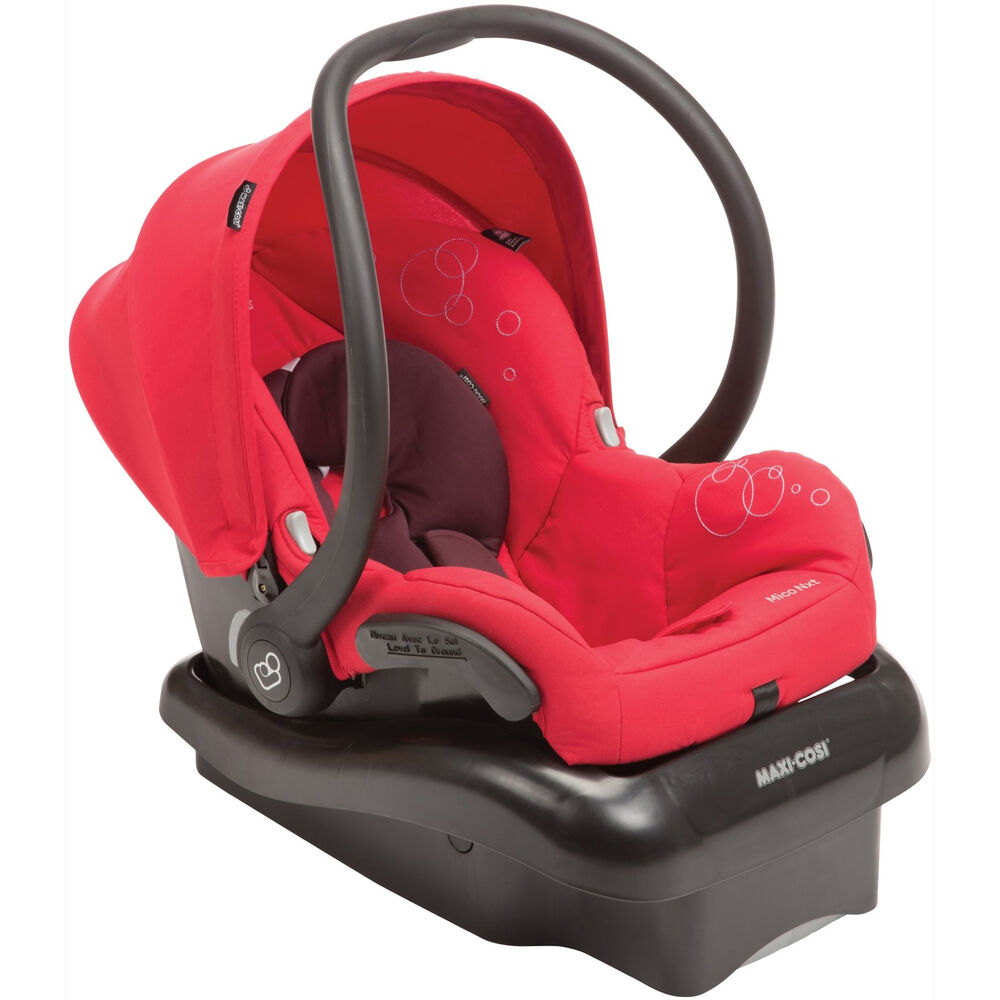 Maxi Cosi Mico Infant Car Seat Limited Edition Intense Red NXT