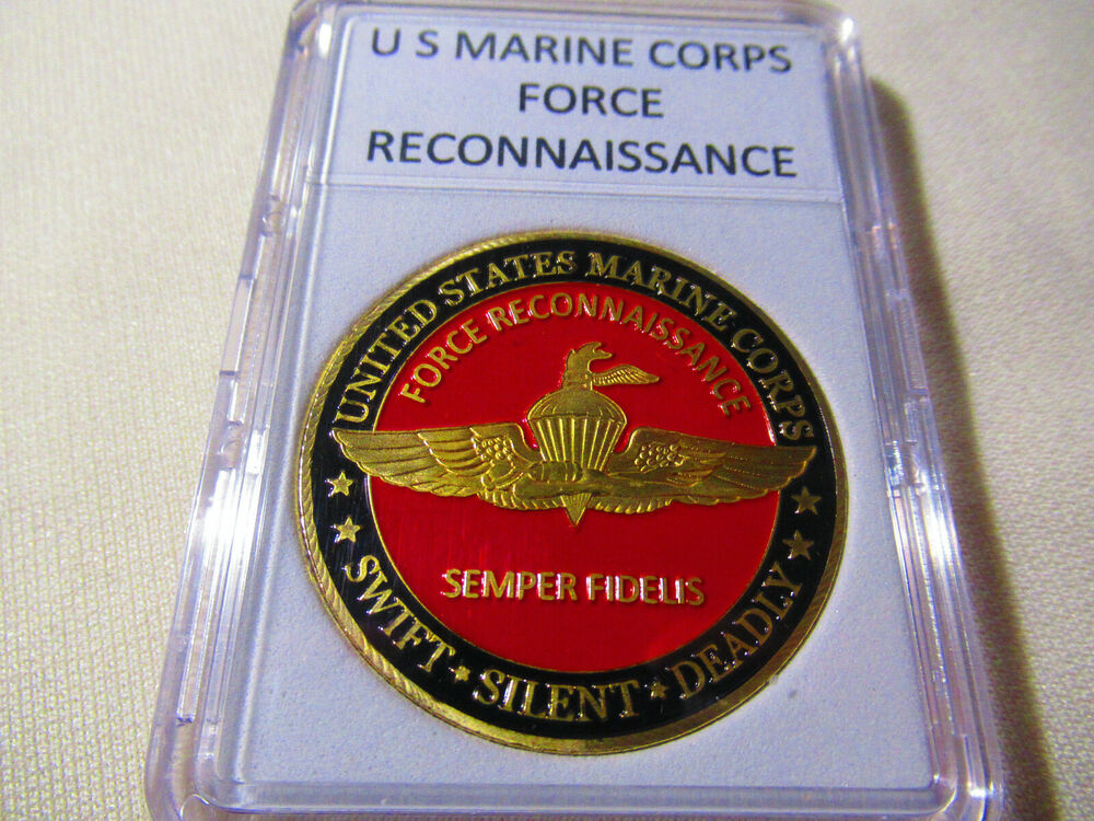US MARINE CORPS FORCE RECONNAISSANCE Challenge Coin | eBay