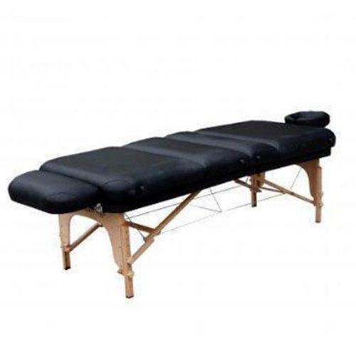 black multiple position folding spa massage facial physical therapy table s5 ebay. Black Bedroom Furniture Sets. Home Design Ideas