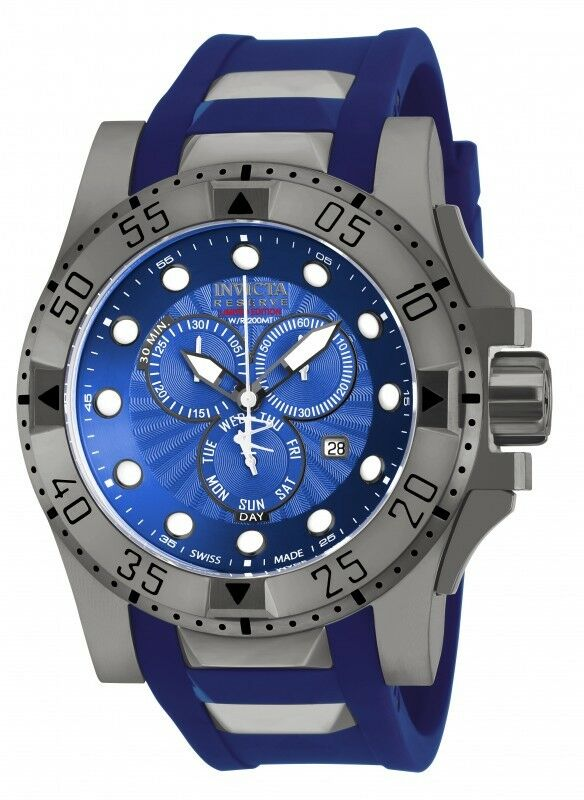 new mens invicta 18689 excursion swiss made chronograph
