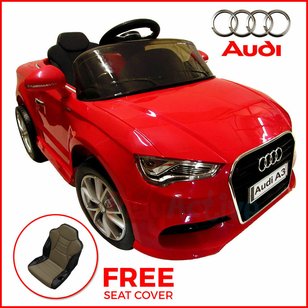 Car Battery For Audi A3: KIDS RIDE ON AUDI A3 LICENSED 12V CAR REMOTE CONTROL TWIN