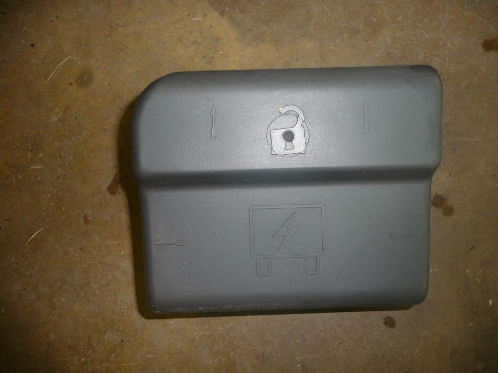 2004 CHEVROLET TRAILBLAZER Engine Bay Plastic Trim Panel