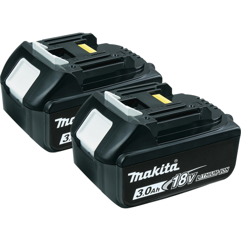Makita 18 volt lxt compact lithium ion 3 0ah battery packs 2 pack bl1830 ebay - Batterie makita 18v ...