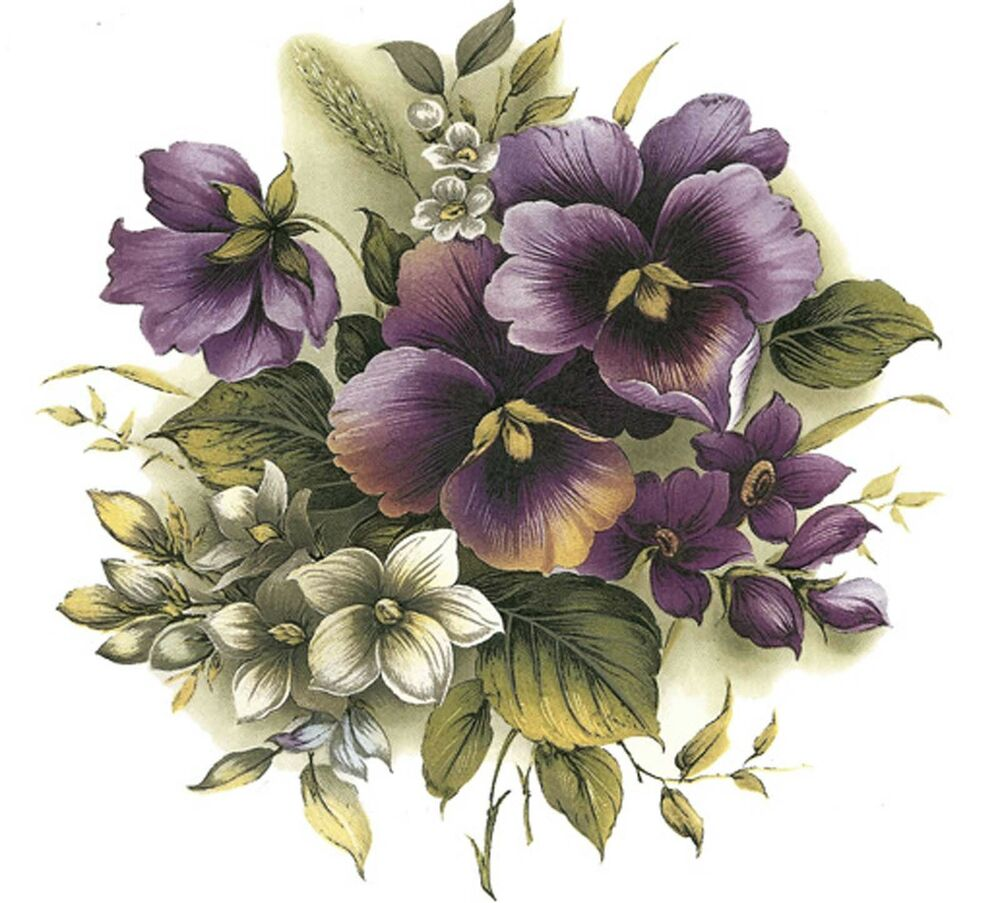 It's just a photo of Dynamic Purple Flowers Drawing