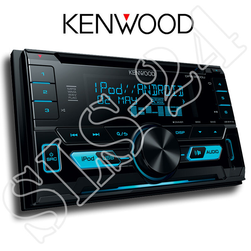 kenwood dpx3000u doppel 2 din radio usb cd receiver. Black Bedroom Furniture Sets. Home Design Ideas