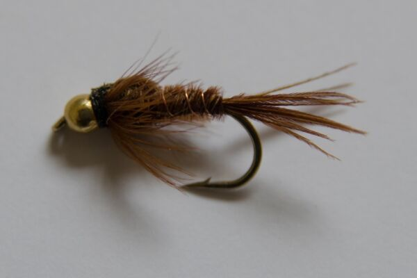 8 Gold Head Olive Damsel Nymph Mixed 10//12 Trout /& Grayling Fly Fishing flies