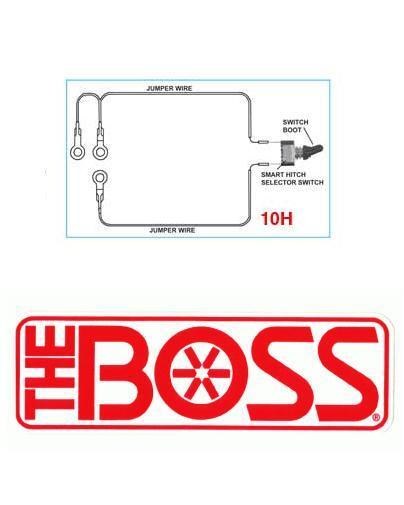 boss snow plow smart hitch 2 toggle switch w connectors. Black Bedroom Furniture Sets. Home Design Ideas