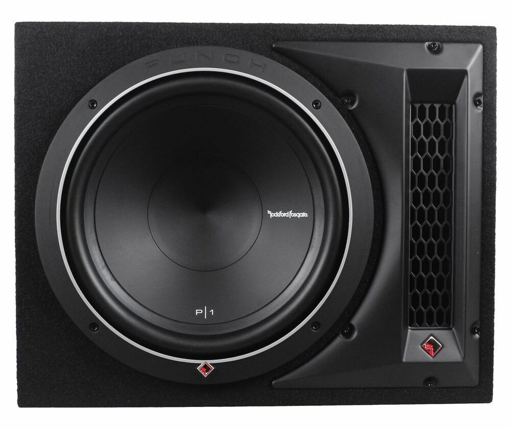 rockford fosgate punch p1 1x12 12 500w 4 ohm p1s4 12. Black Bedroom Furniture Sets. Home Design Ideas