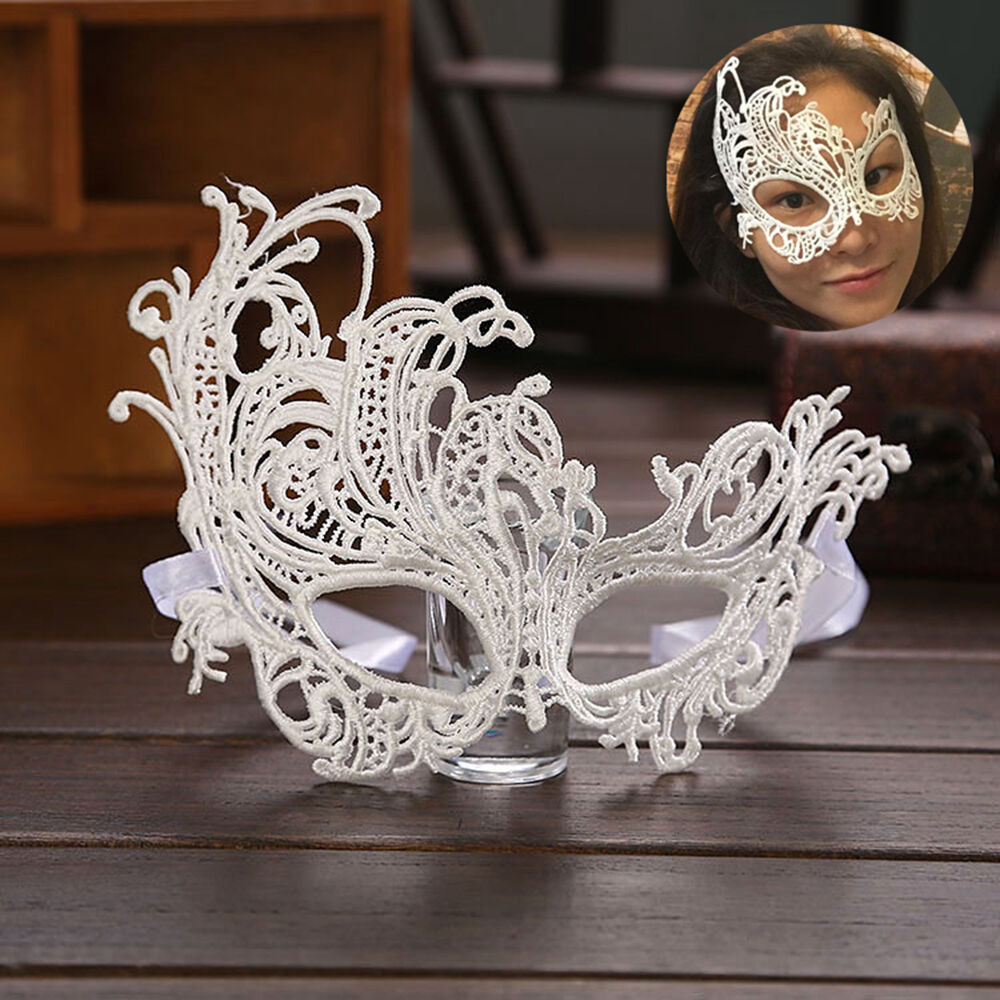 N Eye Mask Lace Venetian Masquerade Ball Halloween Party