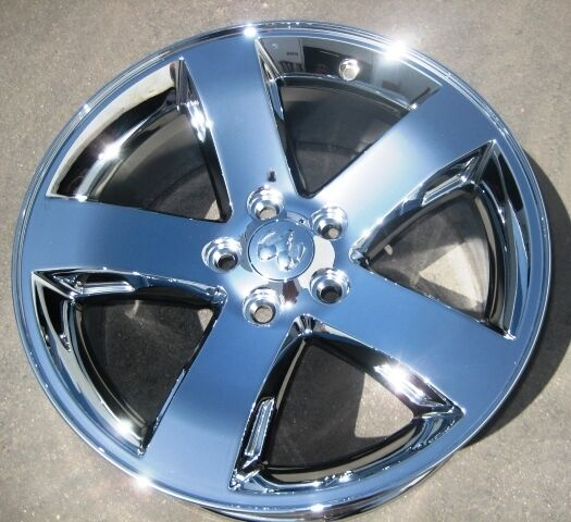 "1 NEW 18"" FACTORY DODGE CHALLENGER CHARGER MAGNUM CHROME ..."