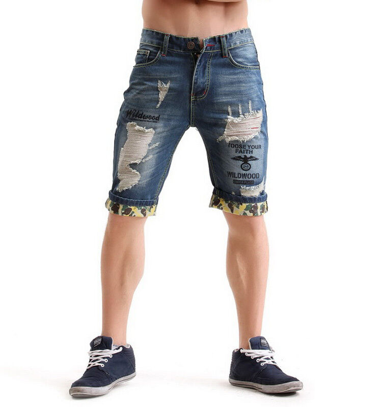 Men's Distressed Cargo Shorts. These cotton twill below-knee shorts are designed for a distressed washed vintage look and feature many convenient pockets. Groupon. Search Groupon Zip Code, Neighborhood, City Men's Clothing Men's Underwear,Men's Polos,Men's Outerw /5().
