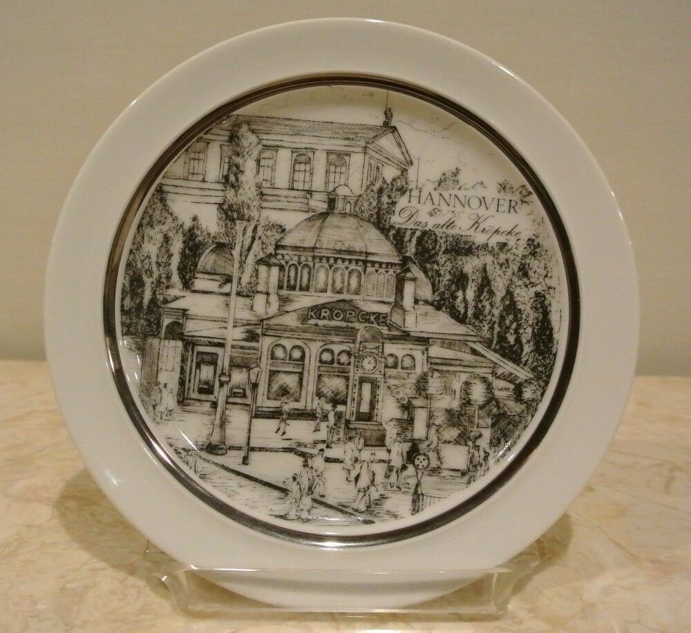 hannover royal kpm porzellan bavaria germany plate ebay. Black Bedroom Furniture Sets. Home Design Ideas
