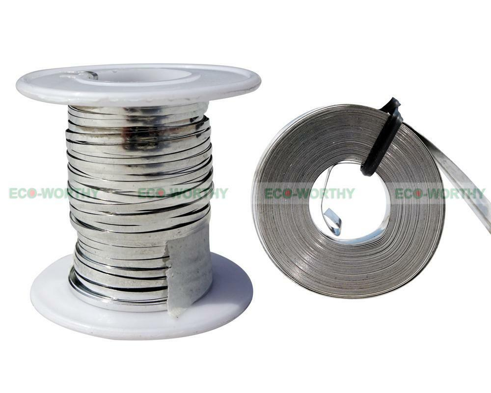 2mm Tabbing Wire 5mm Bus Wire Ribbon Solar Covered For Diy