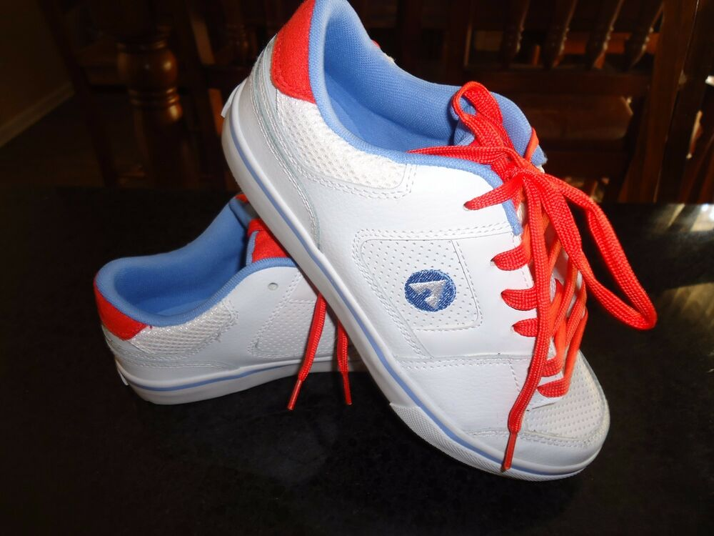 airwalk s royer low leather athletic skate shoes