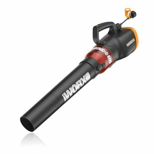 WORX WG520 TURBINE 600 12 Amp Electric Leaf Blower with Variable-Speed Control