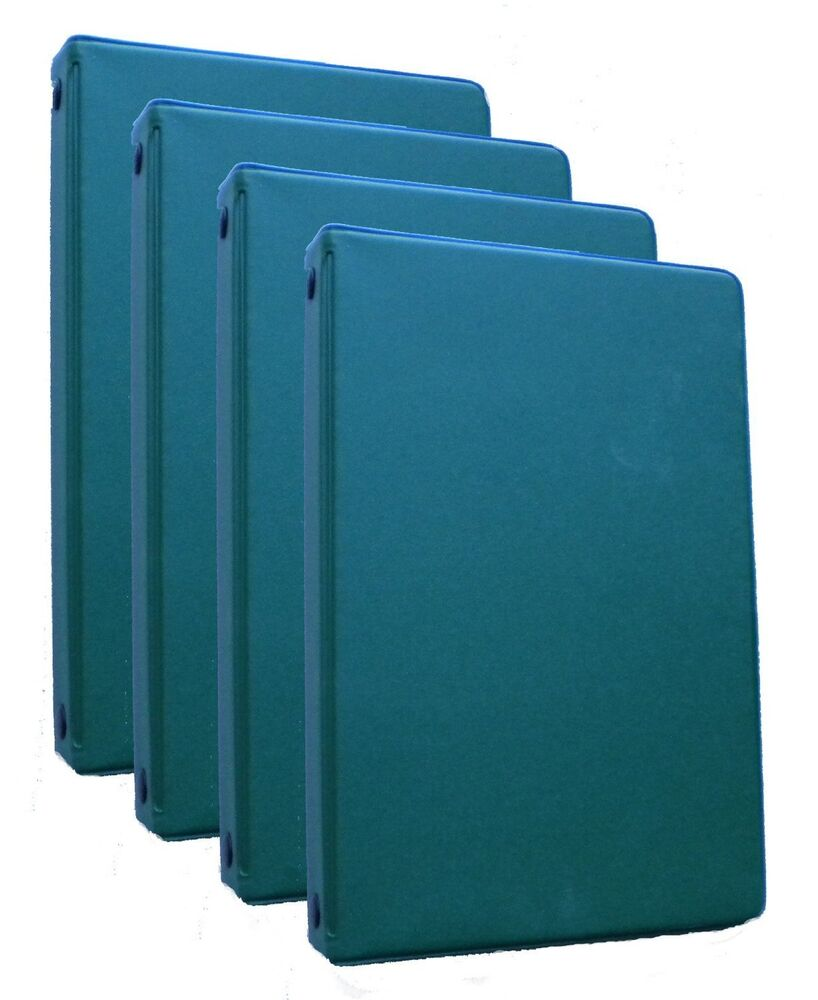 Mead 46001-HG Small 6-Ring Hunter Green Binders With 6.75