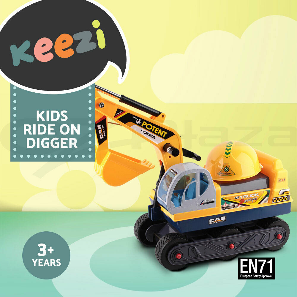 Ride On Toys For Teenagers : Kids pretend play ride on excavator sand digger car