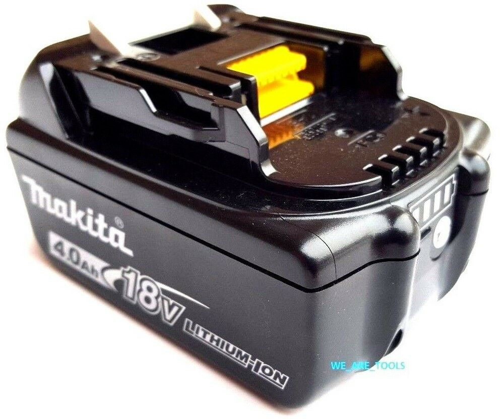 new makita bl1840b 18v genuine battery 4 0 ah w fuel gauge fr drill saw 18 volt ebay. Black Bedroom Furniture Sets. Home Design Ideas