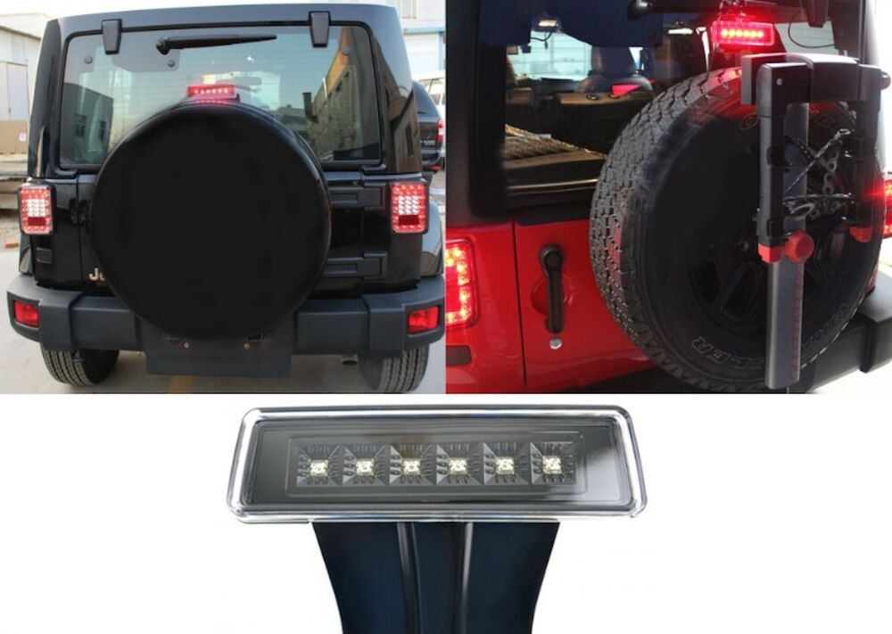 Led Third Brake Light For 2007 2017 Jeep Wrangler Jk