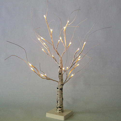 Led Lighted Tree Birch Branch Holiday Party Wedding