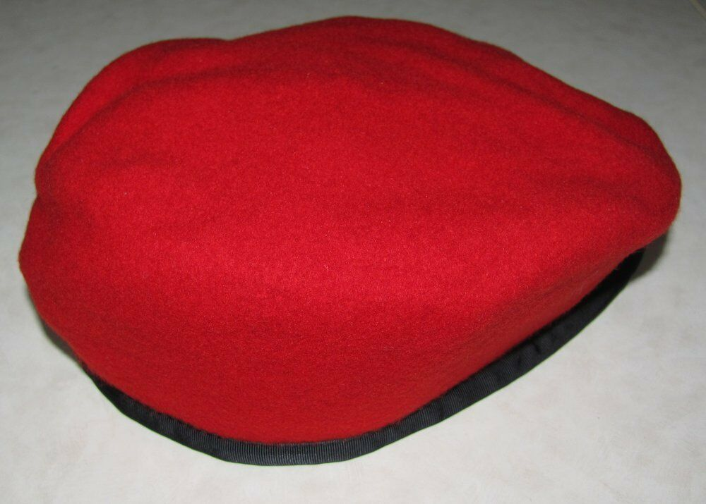 Canada Canadian Forces Mp Military Police Red Beret Ebay