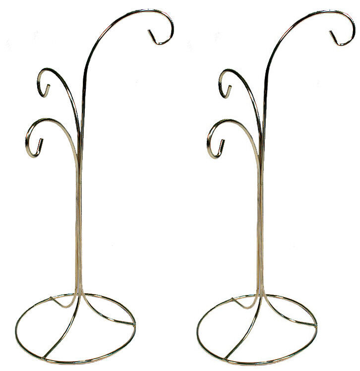 Exhibition Stand Hooks : Ornament display stand holder hanger has hooks quot tall