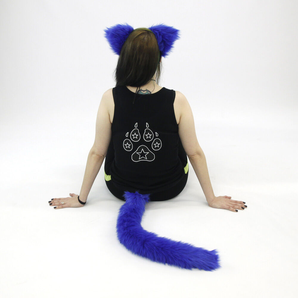 cosplay tail Fluffy cat