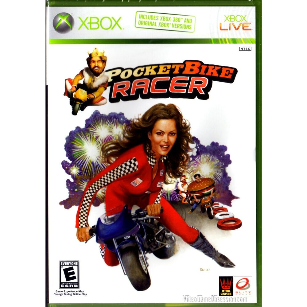 A Rated Games For Xbox 360 : Microsoft xbox burger king pocket bike racer game