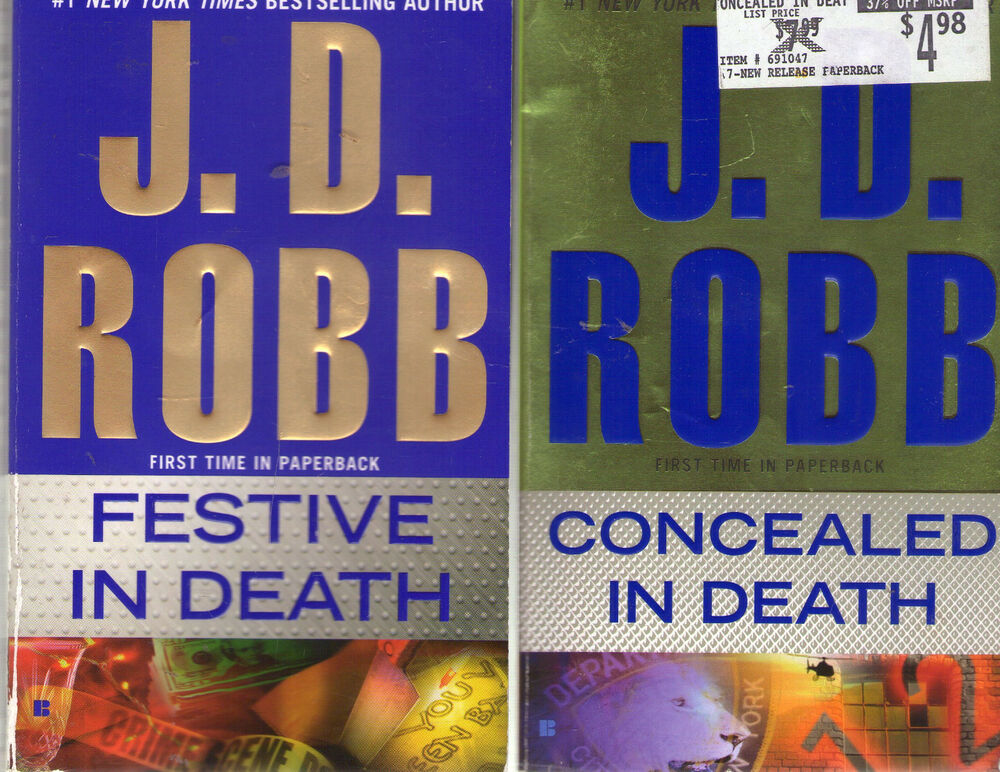 Lot of 9 Nora Roberts writing as J.D. Robb books
