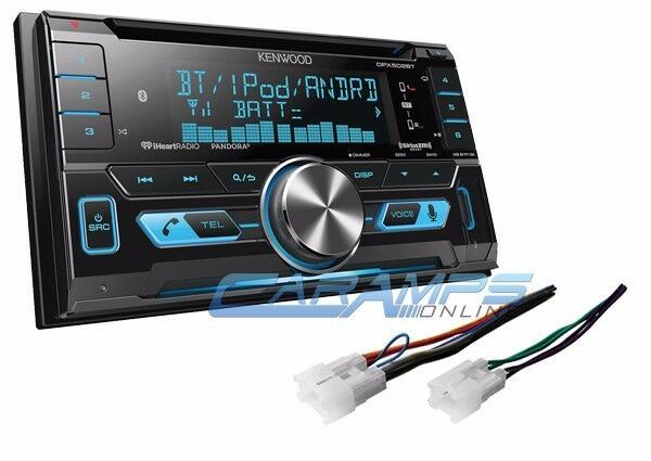 new kenwood car stereo radio receiver w install parts w. Black Bedroom Furniture Sets. Home Design Ideas