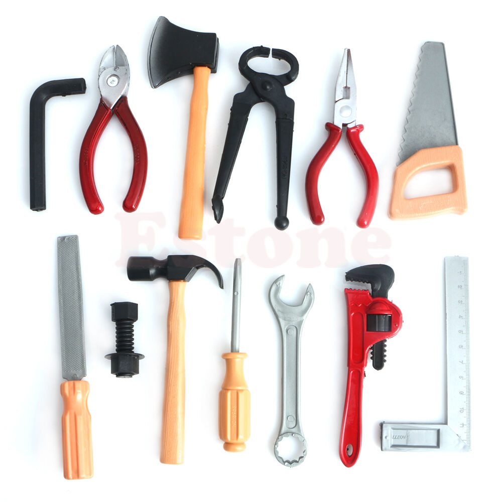 Toy Tool Kits For Boys : Kids childrens childs toy building tool kit boys builder